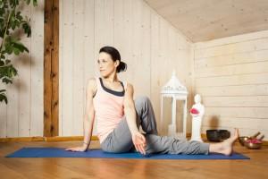 yoga kun je gemakkelijk thuis uitvoeren!