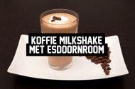 Recept: Een koffie milkshake met esdoornroom
