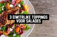 3 eiwitrijke toppings voor salades