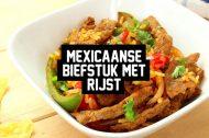 Recept: Mexicaanse Biefstuk met Rijst