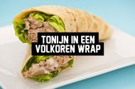 Recept: Tonijn in een Volkoren Wrap