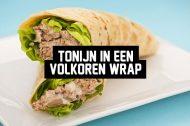 Recept: Tonijn in een Volkoren Wrap