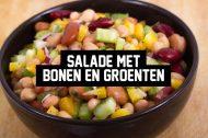 Recept: Salade met Bonen en Groenten