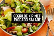 Recept: Gegrilde Kip met Avocado Salade