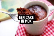 Recept: Een cake in mok