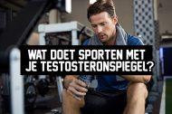 Wat doet sporten met je testosteronspiegel?