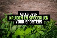 Kruiden en specerijen voor sporters