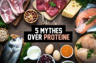 5 mythes over proteïne