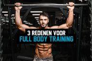 3 redenen voor full-body training